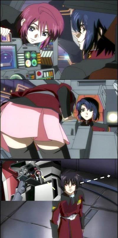 Gundam SEED: Destiny - fanservice at last!